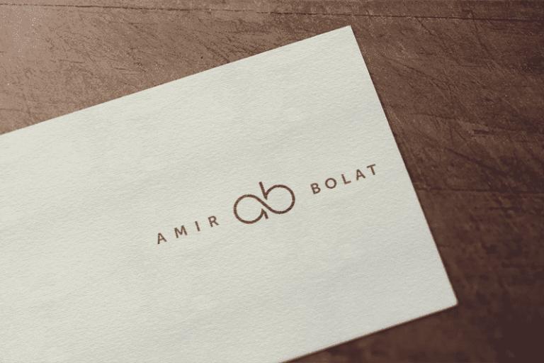 Дизайн логотипа для дизайнерской одежды