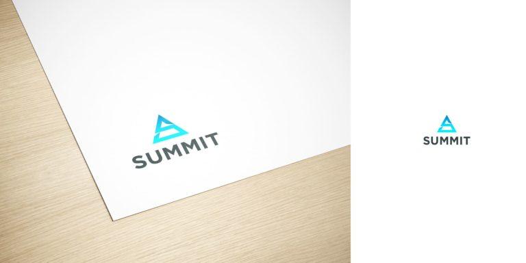 Дизайн логотипа для IT компании Summit IT