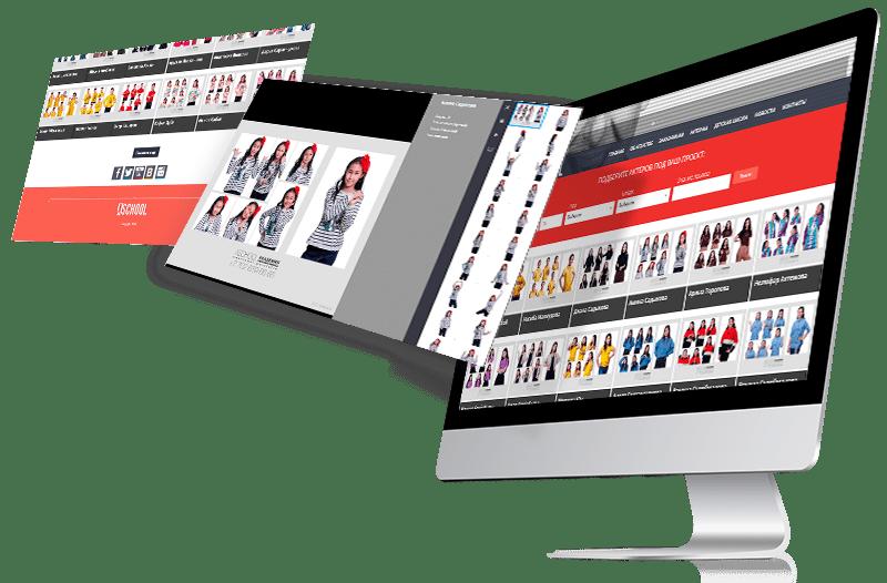 Дизайн и натяжка сайта по поиску актеров