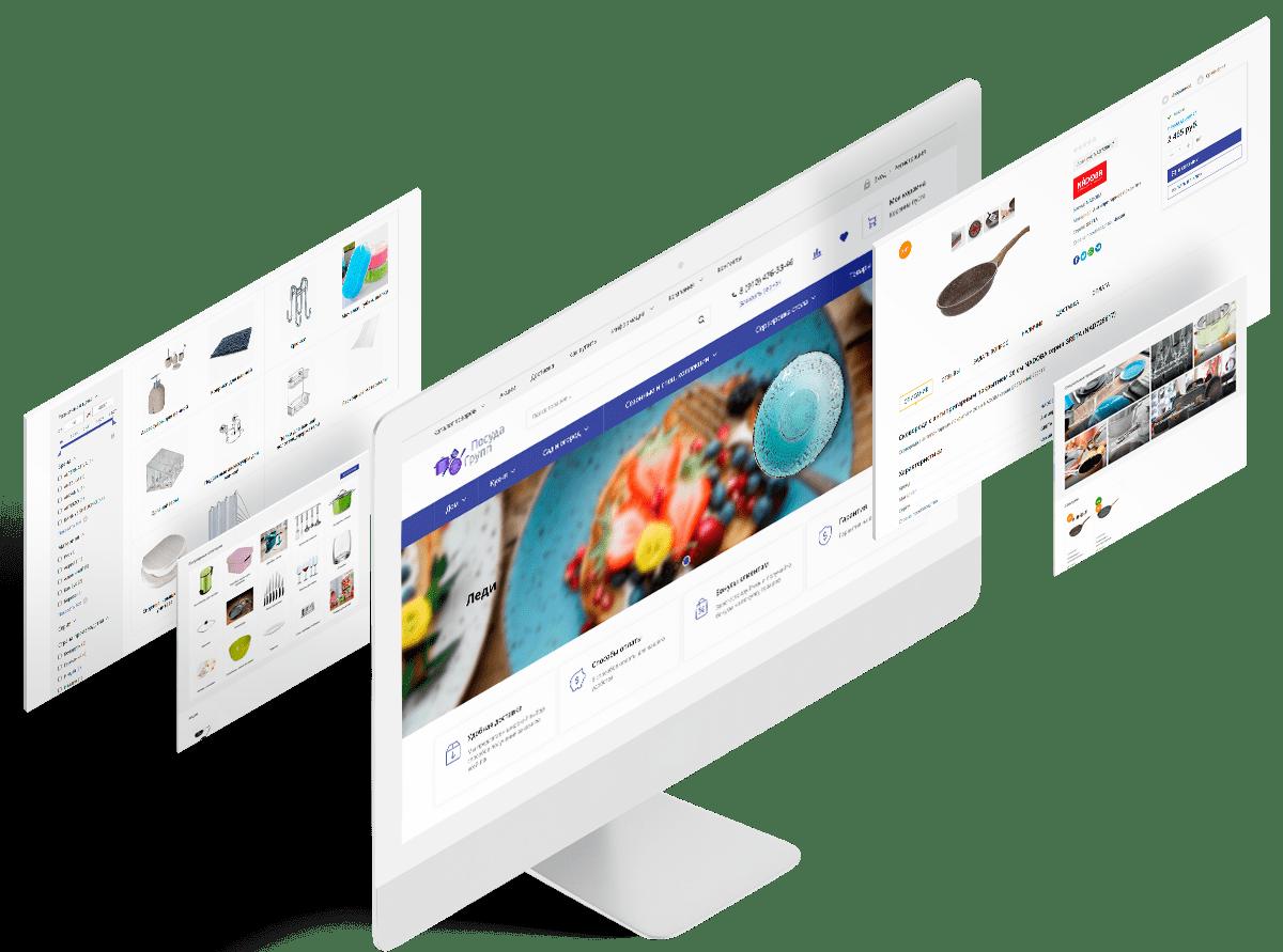 case02 posudagroup ru - Интернет-магазин по продаже посуды на 1С-Битрикс